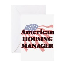 American Housing Manager Greeting Cards