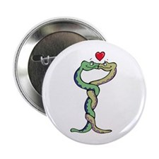 """Snakes In Love 2.25"""" Button (10 pack)"""