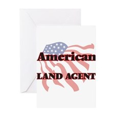 American Land Agent Greeting Cards