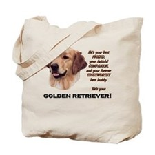 He's Your Golden Tote Bag