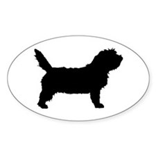 Petit Basset Griffon Vendeen Oval Decal