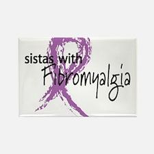 Fibromyalgia Rectangle Magnet