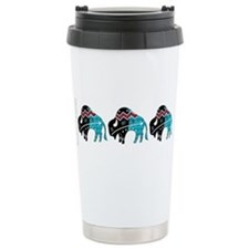 Cute Native american indian Travel Mug