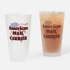 American Mail Carrier Drinking Glass