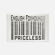 English Foxhound Dog Owner Lo Rectangle Magnet (10