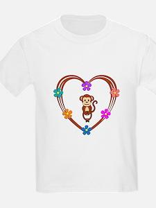 Monkey Heart T-Shirt