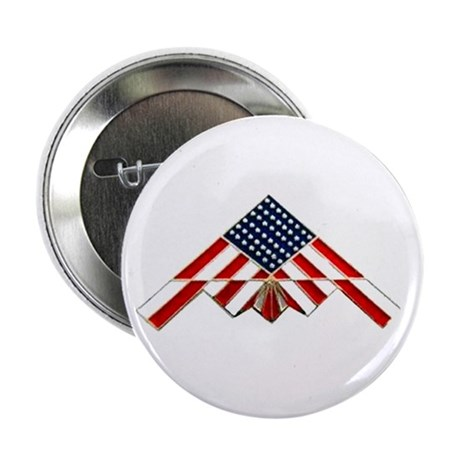 """Stealth Flag 2.25"""" Button (10 pack)"""