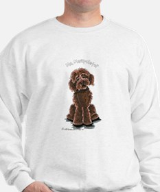 Cute Lab mix Sweatshirt