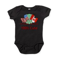 Unique Canada day Baby Bodysuit