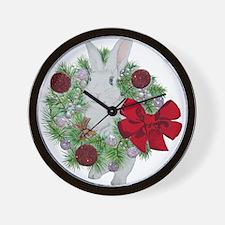 Hoppy Holidays! Wall Clock