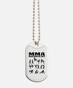 Unique Mixed wrestling Dog Tags