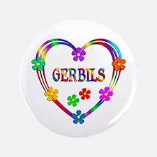 """Gerbil Heart 3.5"""" Button (100 pack)"""
