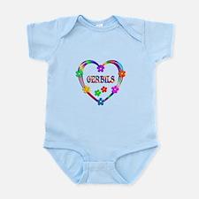 Gerbil Heart Infant Bodysuit