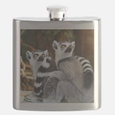 Lemurs Rock Flask