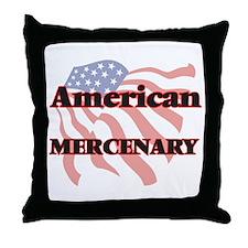 American Mercenary Throw Pillow
