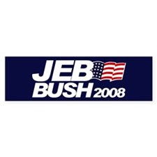 JEB BUSH PRESIDENT 2008 Bumper Bumper Sticker