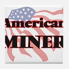American Miner Tile Coaster