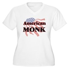 American Monk Plus Size T-Shirt