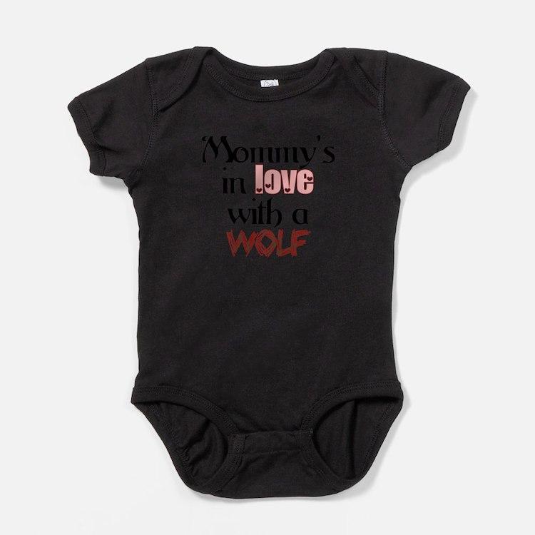 Cute Twilight jacob Baby Bodysuit