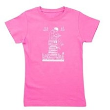 Cute Reader Girl's Tee