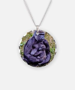 GORILLA AND BABY Necklace