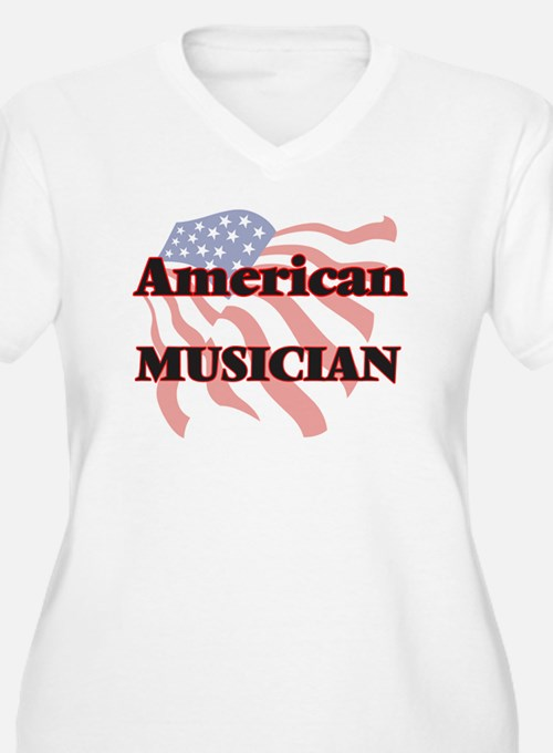 American Musician Plus Size T-Shirt