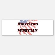 American Musician Bumper Bumper Bumper Sticker