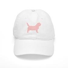 Pink Petit Basset Dog Baseball Cap