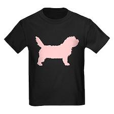 Pink Petit Basset Dog  T