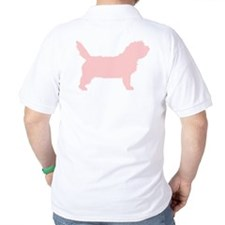 Pink Petit Basset Dog T-Shirt