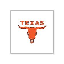 """Cute Dallas cowboy Square Sticker 3"""" x 3"""""""