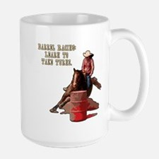 Barrel Racing, Take Turns. Mug