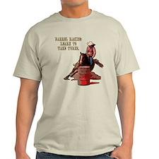 Barrel Racing, Take Turns. T-Shirt