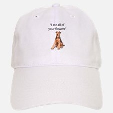 Rowdy Airedale Terrier Ate Your Flowers Baseball Baseball Cap