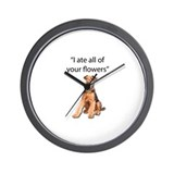 Airedale terrier Basic Clocks