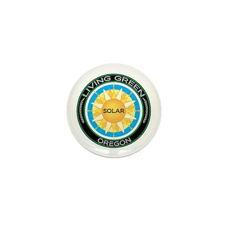 Living Green Oregon Solar Energy Mini Button (10 p