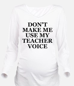 Unique High school Long Sleeve Maternity T-Shirt