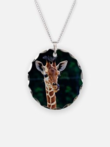 Unique Wildlife Necklace Circle Charm