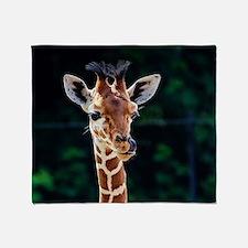 Unique Cute giraffe Throw Blanket