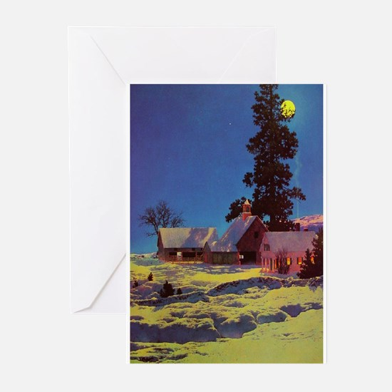 Cute Maxfield parrish Greeting Cards (Pk of 20)