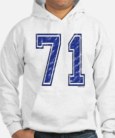 71 Jersey Year Hoodie