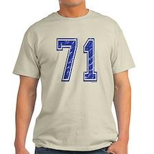 71 Jersey Year T-Shirt