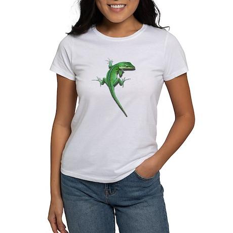 Climbing Anole Women's T-Shirt