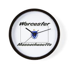 Worcester Massachusetts Wall Clock