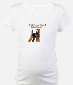 """Airedale Caused """"Incident"""" in Ki Shirt"""