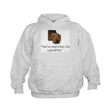 Sulking Airedale Terrier Giving Cute E Hoodie