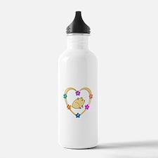 Hamster Heart Water Bottle