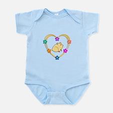 Hamster Heart Infant Bodysuit