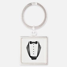 bachelor party groom tuxedo Keychains