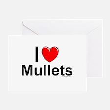 Mullets Greeting Card